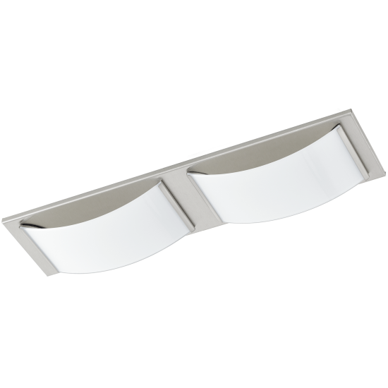 LED Плафон-Аплик за баня WASAO 2х5.4W IP44