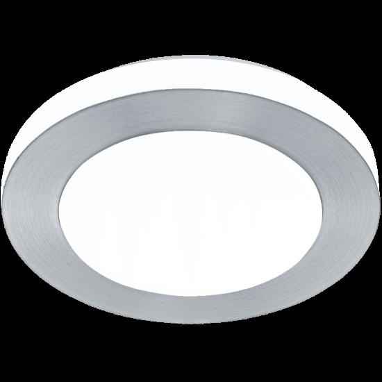 LED плафон за баня CARPI IP44 11W 3000K 950Lm драскан хром + бяло