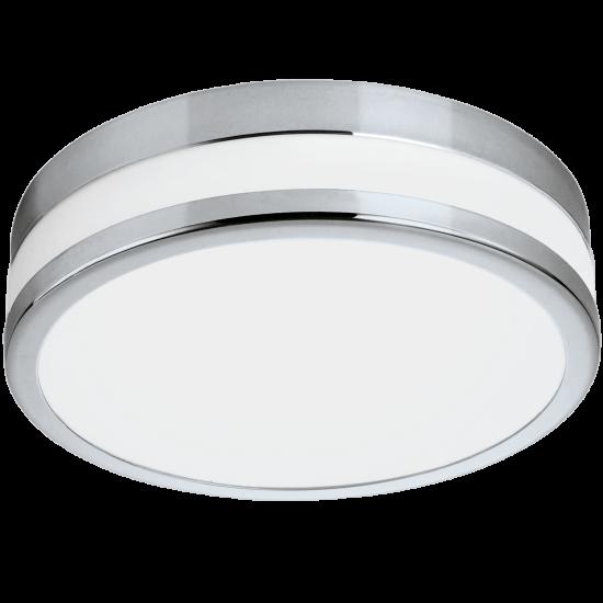 LED плафон за баня PALERMO IP44 11W 3000K 950Lm хром + опал