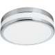 LED плафон за баня PALERMO IP44 24W 3000K 2100Lm хром + опал