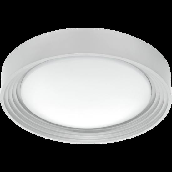 LED Плафон за баня сребро ONTANEDA 11W IP44