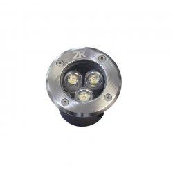 LED Луна подова Caro MD03 IP65 3W 4000К 300Lm DC12V кръгла