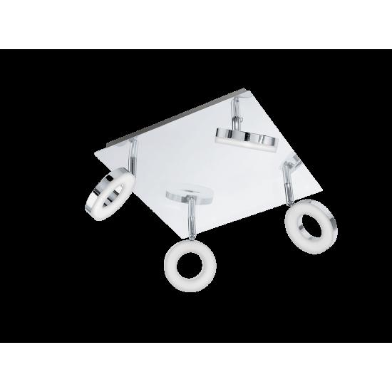 LED Спот за баня хром GONARO 4х3.8W IP44