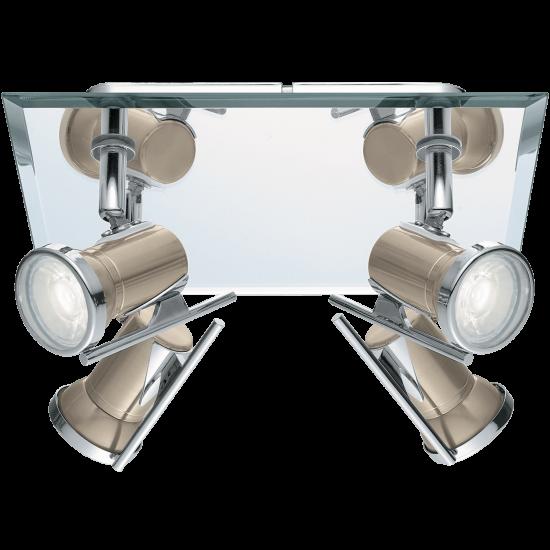 LED Спот за баня сатен никел TAMARA 3.3W IP44