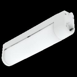 LED Аплик бял BARI 2хЕ14 с ключе IP20
