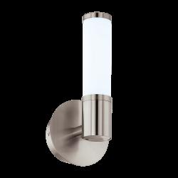 LED Аплик за баня сатен никел PALMERA 3000K IP44
