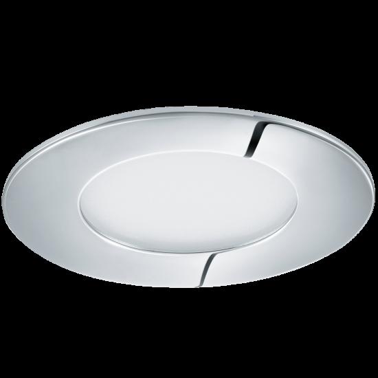 LED Панел влагозащитен хром FUEVA Ф85 3000K IP44