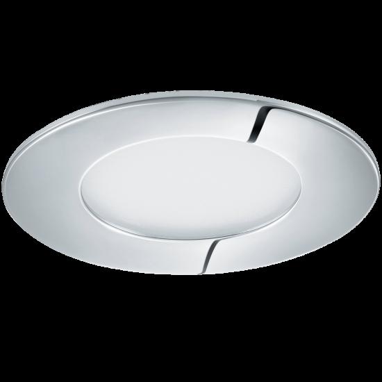 LED Панел влагозащитен хром FUEVA Ф85 4000K IP44