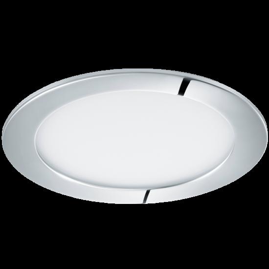 LED Панел влагозащитен хром FUEVA Ф170 4000K IP44