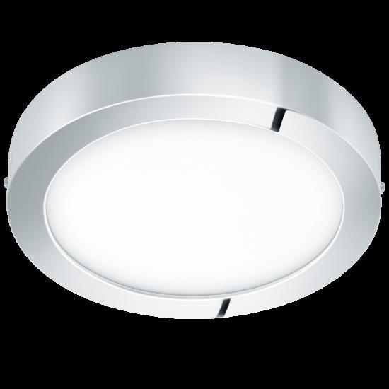 LED Панел влагозащитен хром FUEVA Ф300 3000K IP44 ОМ