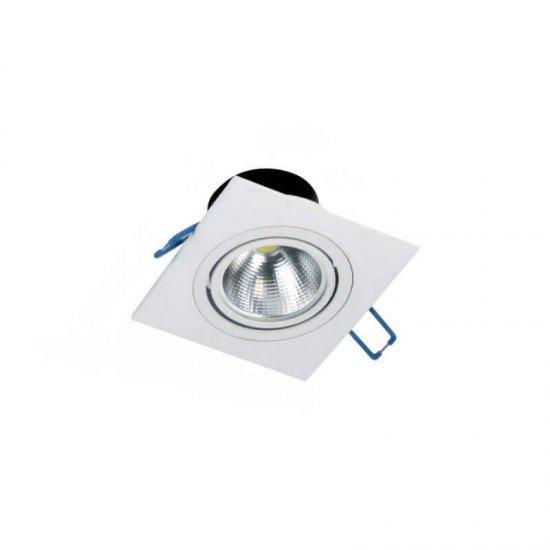 LED луна Hilux FTS 5W 4000K 500Lm IP21 230V бяла квадратна