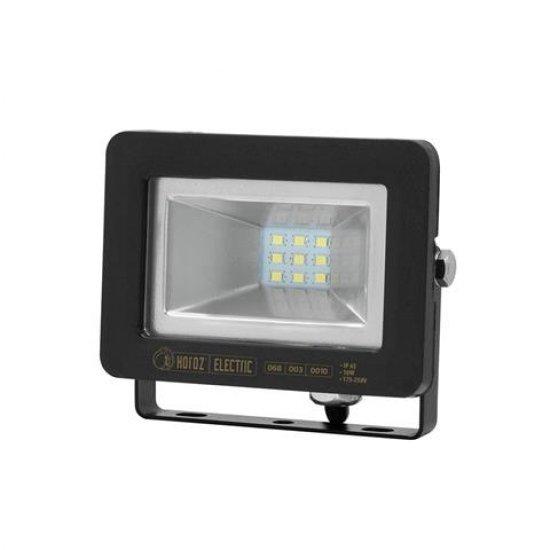 LED Прожектор SMD 10W Зелена светлина IP65 черен