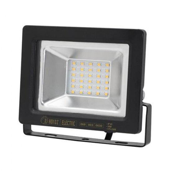 LED прожектор SMD 30W Зелена светлина IP65 черен