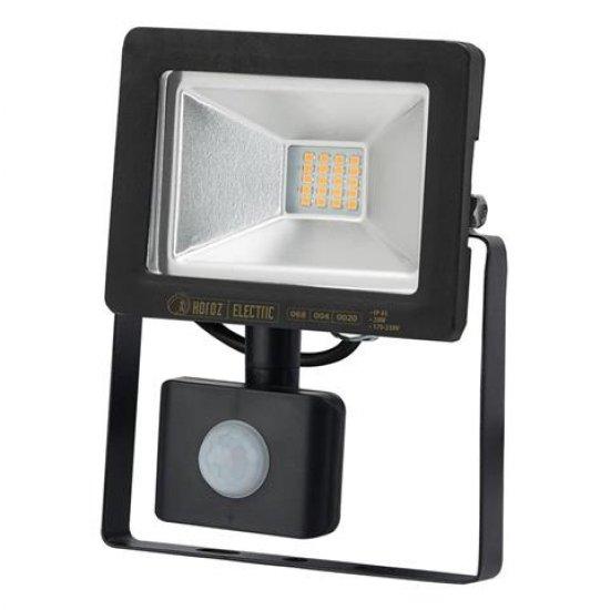 LED прожектор със сензор SMD 20W 6400K IP65 черен