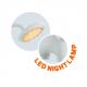 LED Детска Настолна Лампа Слон 6W 350Lm димируема Синя