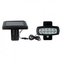 LED соларна лампа IP44 2W 6400K 150Lm със сензор