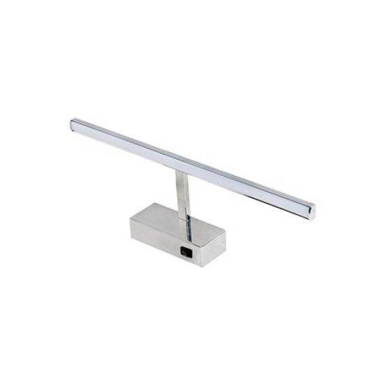 LED SMD стенна лампа 8W 4200K 570Lm IP45 40.5см хром с копче
