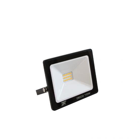 LED Прожектор Deco 10W 6000K 1000Lm IP65 черен