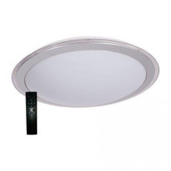 LED Плафон с дистанционно 72W 5400Lм  3000-6500K сив ринг