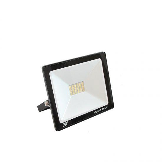 LED Прожектор Deco 20W 6000K 2000Lm IP65 черен