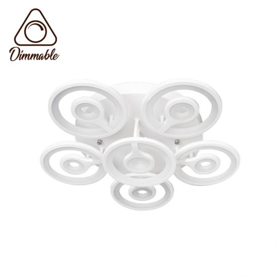 LED полилей 6015/6 96W 3-white димируем с дистанционно управление бял