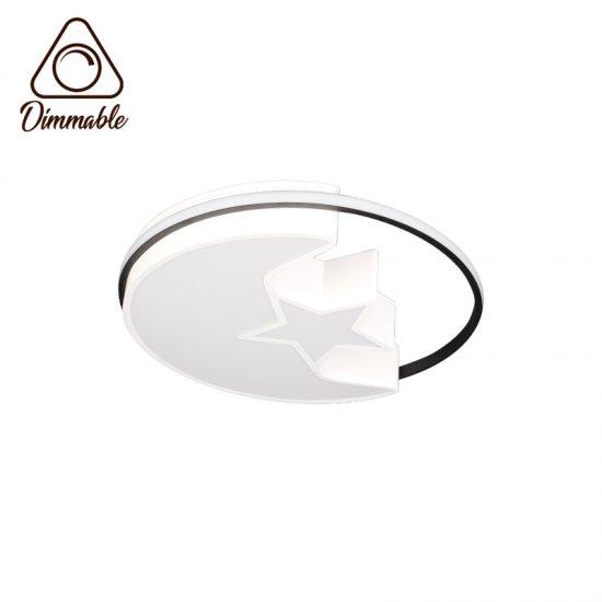 LED плафон 6236 48W  3-white ф50см IP20 димируем