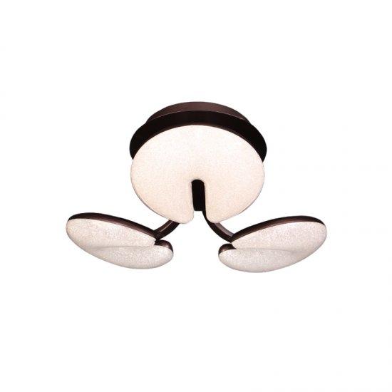 LED полилей 8593/3 30W 3-white черен