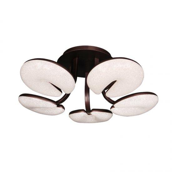 LED полилей 8593/5 50W 3-white черен