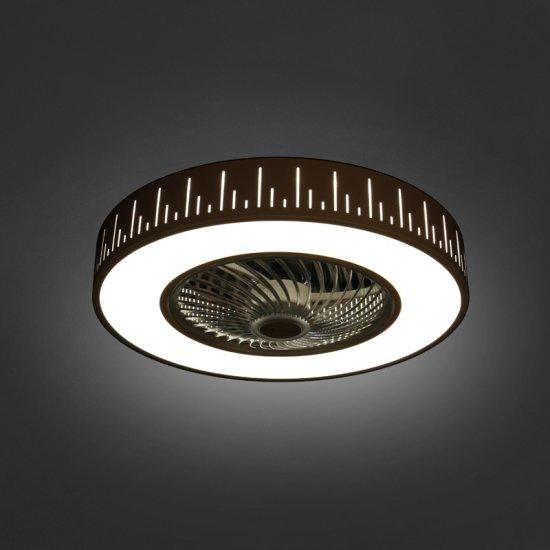 LED плафон с вентилатор F9003 A1 36W  3-white ф54см IP20
