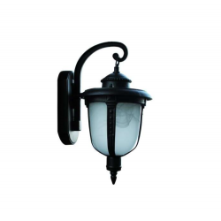 Градински фенер Acorn стенен черен IP44 1xE27