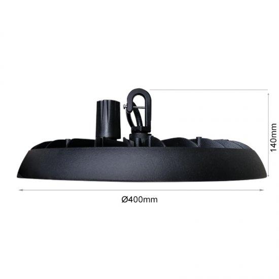 LED промишлен осветител тип камбана Olimpia 200W 5000K 28000Lm IP66 димируем 140Lm/W
