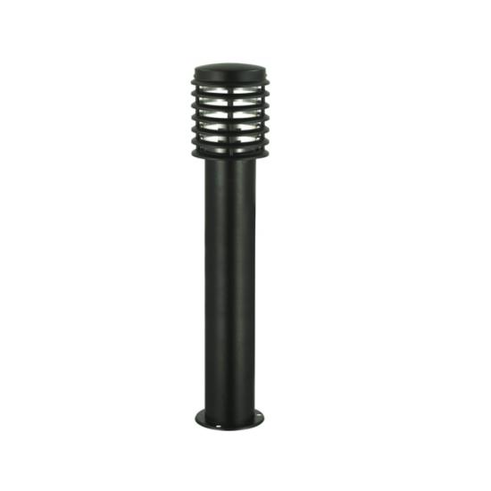 Градинска лампа IP44 E27 max 100W черна стояща 80см