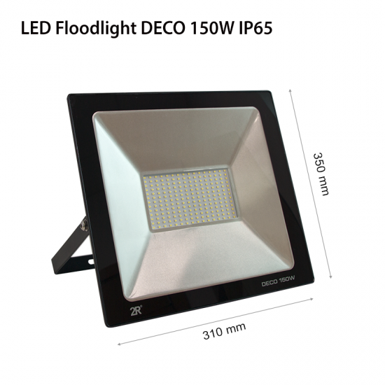 LED Прожектор Deco 150W 6000K 15000Lm IP65 черен
