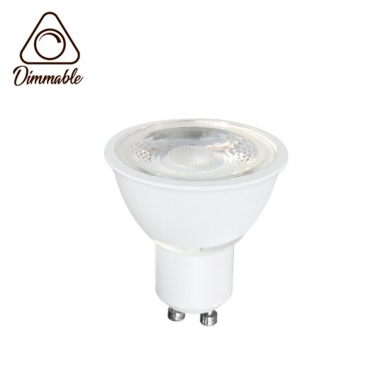 LED крушка CAP GU10 6.5W 3000К 540Lm 230V димируема