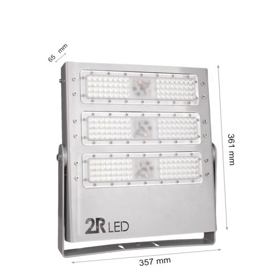 LED Прожектор Sport 150W 5000K 18000Lm IP65 сив