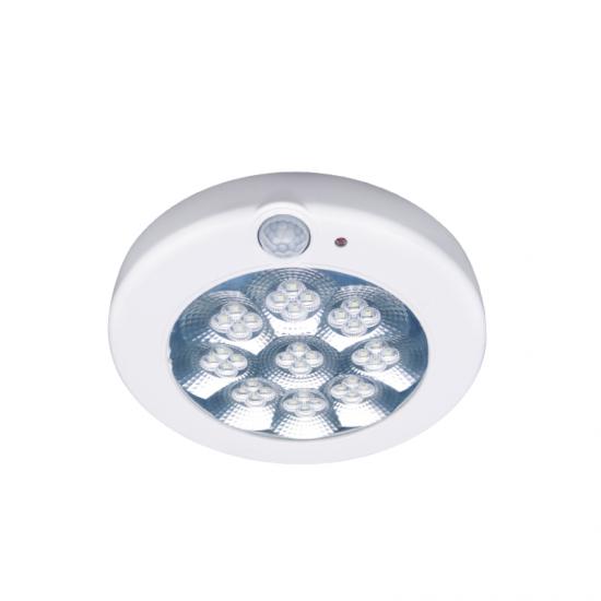 LED плафон със сензор Safe sense 11W 6000K 1100Lm IP44 ф28 см