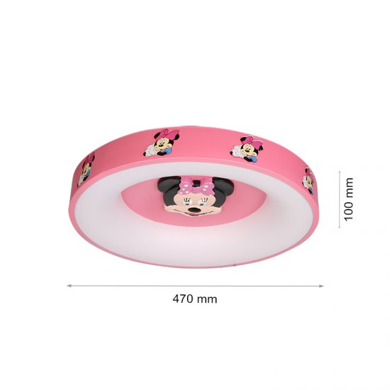 LED плафон Мини Маус 5220-1 55W 3-white