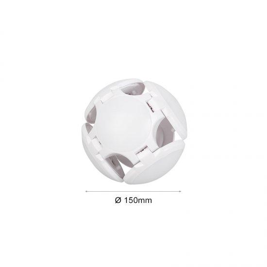 LED крушка CAP глобус E27 30W 6400K ф15см