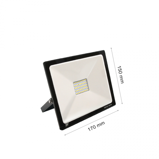 LED Прожектор Deco 30W 2700K 3000Lm IP65 черен