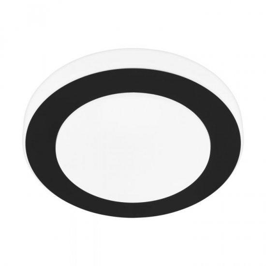 LED плафон за баня CARPI IP44 11W 3000K 950Lm черно + бяло