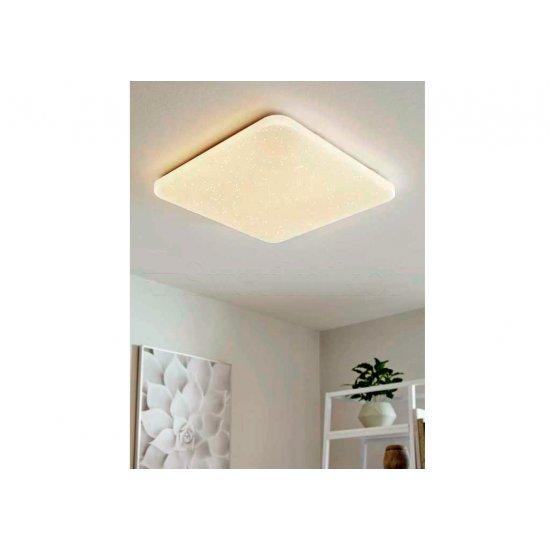 LED плафон за баня FRANIA IP44 17.3W 3000K 2000Lm квадратен бял