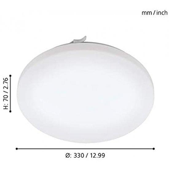LED плафон за баня FRANIA IP44 17.3W 3000K 2000Lm бял