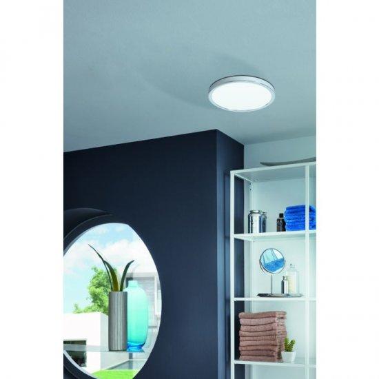 LED плафон за баня FUEVA 5 IP44 20W 3000K 2300Lm черен