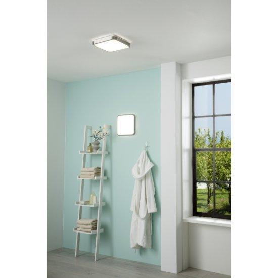 LED плафон за баня MANILVA 1 IP44 16W 3000K 1500Lm мат хром