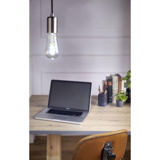 LED крушка Filament ST64 Е27 5.5W 2200-6500К 400Lm амбър