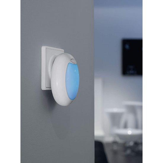 LED лампа за контакт TINEO 0.6W (3LED) RGB  IP20 бяла