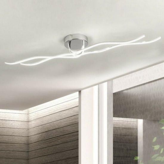 LED плафон RONCADE 40W 3000K 3600Lm IP20 хром