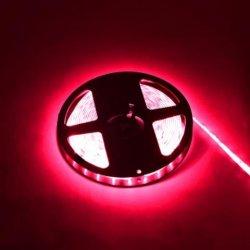 LED Лента SMD 28x35 60/м 4.8W/м IP20 червена /опаковка 5м=24W/