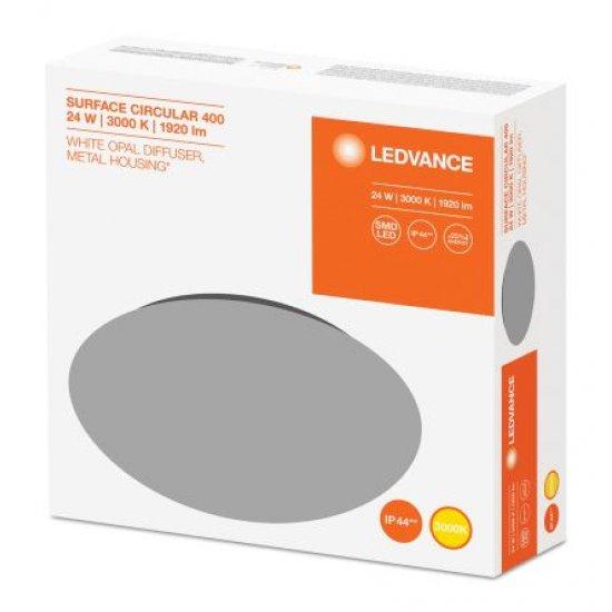 LED плафон LEDVANCE SF 400 24W 4000K 1920Lm IP44 ф40см