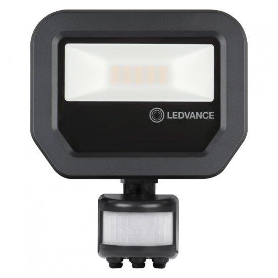 LED прожектор със сензор LEDVANCE GEN 3 10W 4000K 1200Lm IP65 черен 120Lm/W